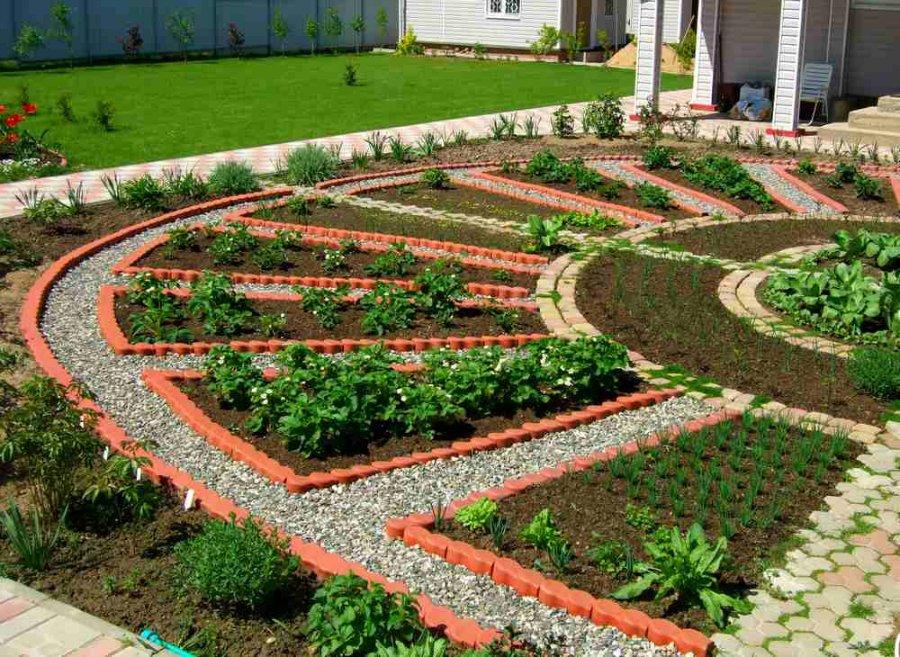 Огород и сад в ландшафтном дизайне