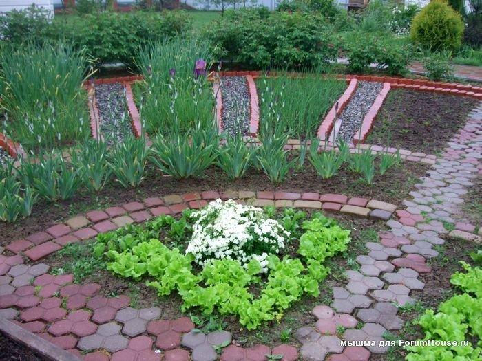 Как красиво сделать сад в огороде