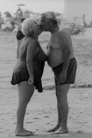 sex couple Old chubby