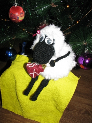 Овечка Дуняша, символ 2015 года, овечка дуняша