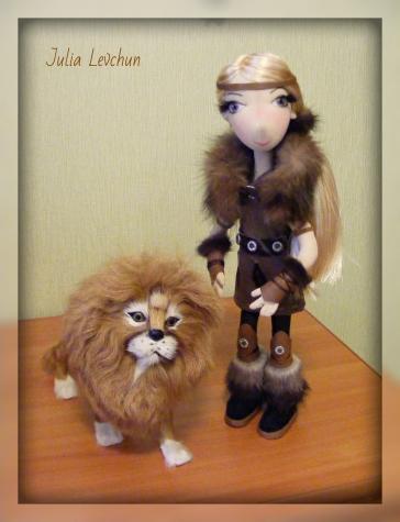 Аника - воин - викинг