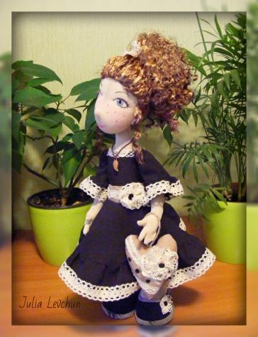Лаура.  Авторская кукла