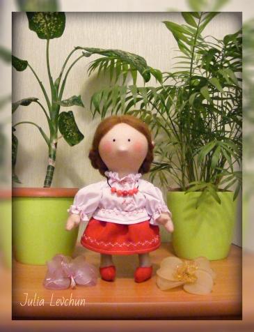 Украиночка.   Кукла за 4 часа))