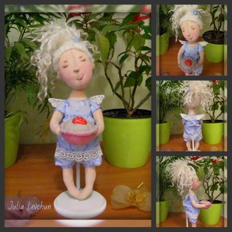 """Маленькая мечтательница-сладкоежка.   Серия """"Я ♥ Гапчинскую"""""""