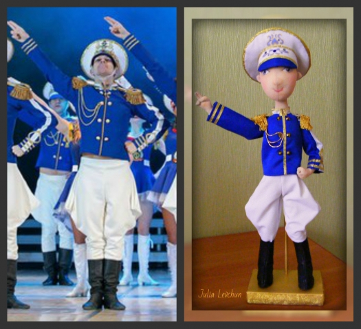 Кукла для Матвея - учителя танцев балета Тодес