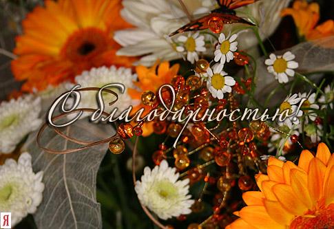 Фото открытки с благодарностью