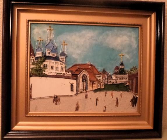 """""""Вид от Лубянки на Владимирские ворота 1800г."""""""