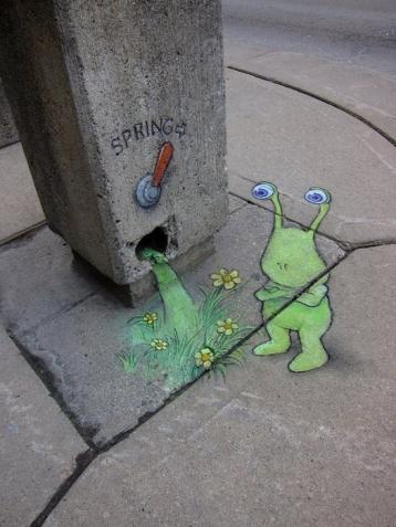 Стрит- арт.