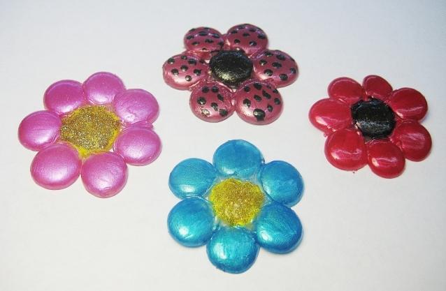 Цветы из силикона. Мастер-класс