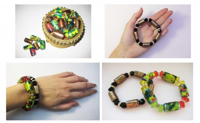 Оригинальные браслеты из пластиковых бутылок. Мастер класс
