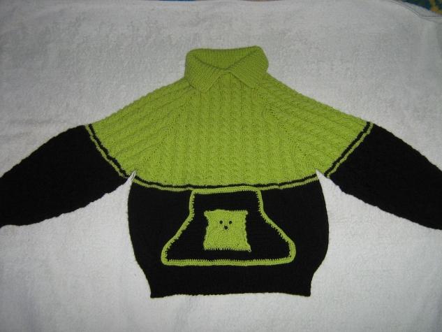 Абсолютно безшовный свитер