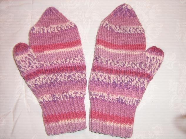 Вот и мои рукавички