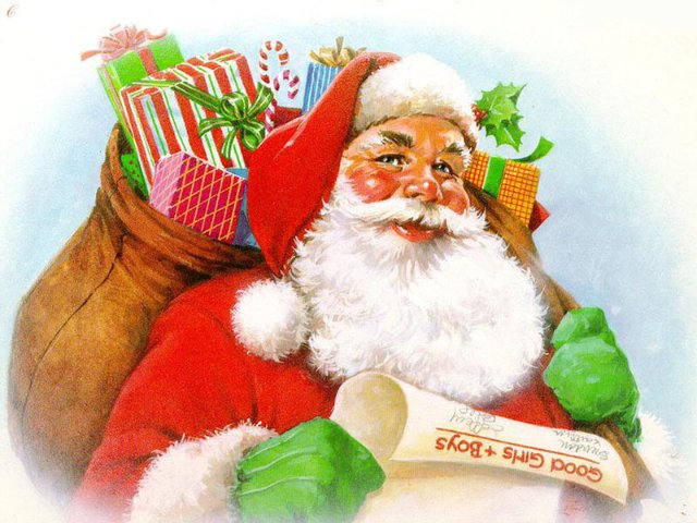 И ко мне Дед Мороз долетел....