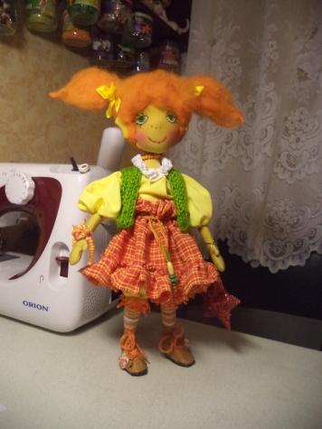Кукла  Искорка
