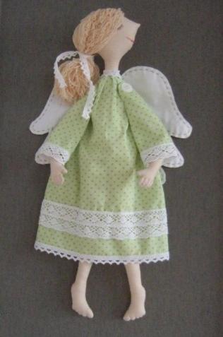 Ангел по выкройке Елены Вайнатовской