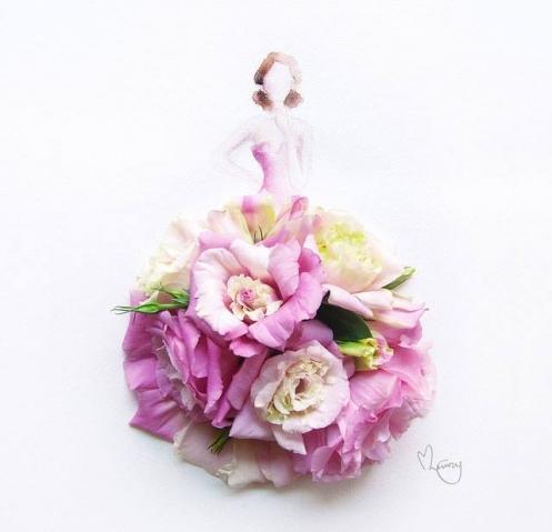 Цветочные девушки Лим Цзи Вэй (Limzy)
