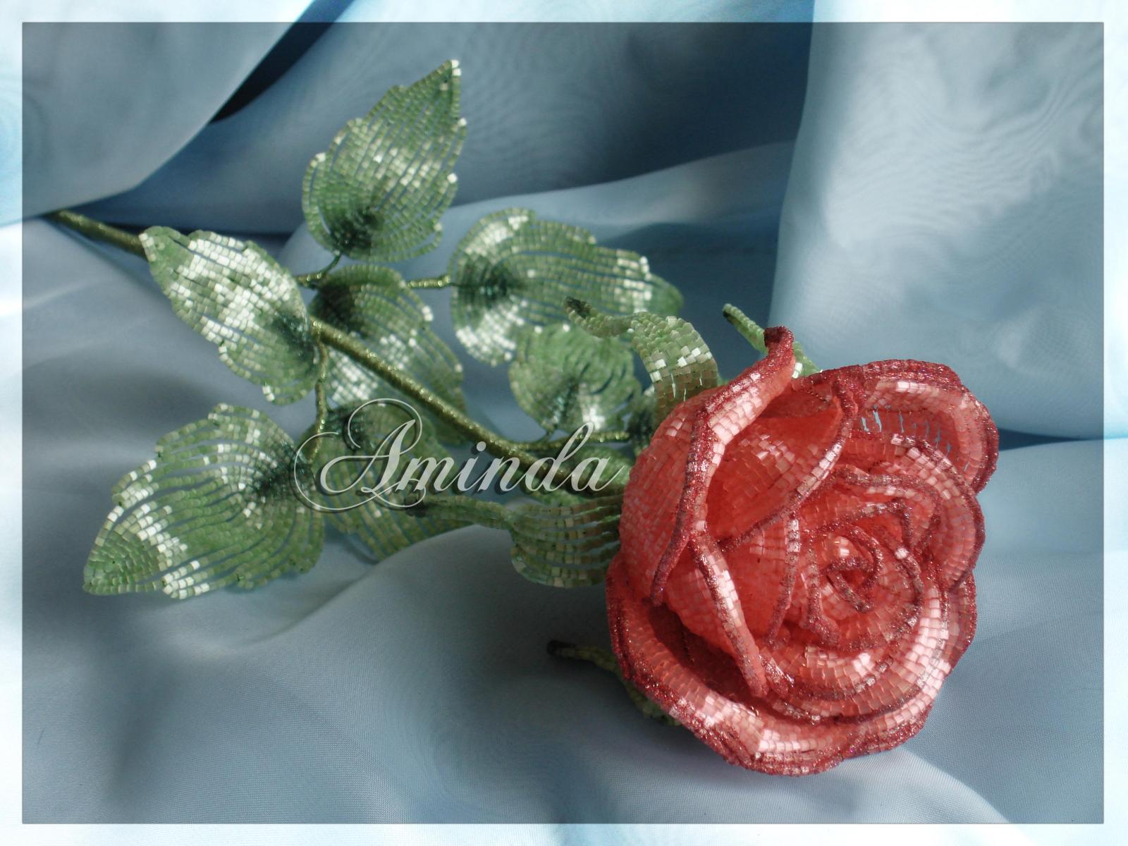 Бокаловидная роза мастер класс 176