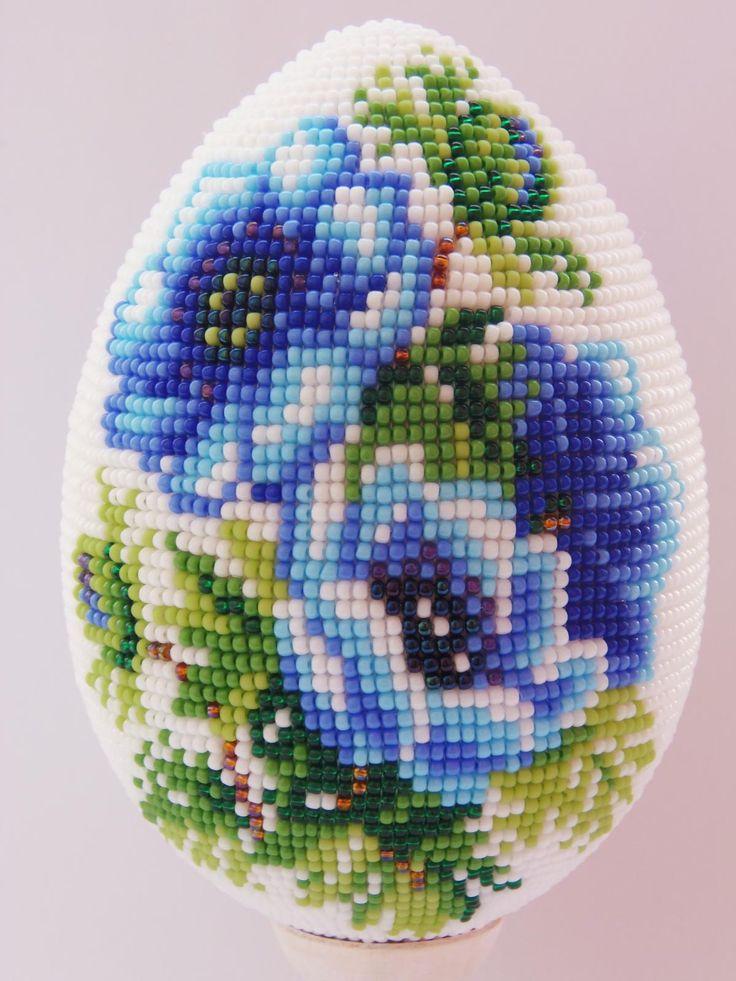 Galleryru / фото #70 - пасхальные яйца из бисера - petrovamedvedeva