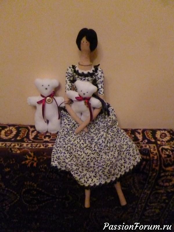 Подарок, игрушки текстильные, тильда, текстильная кукла