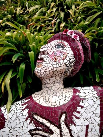 Сад Мозаик и Дом Гигантов. Акароа. Новая Зеландия.