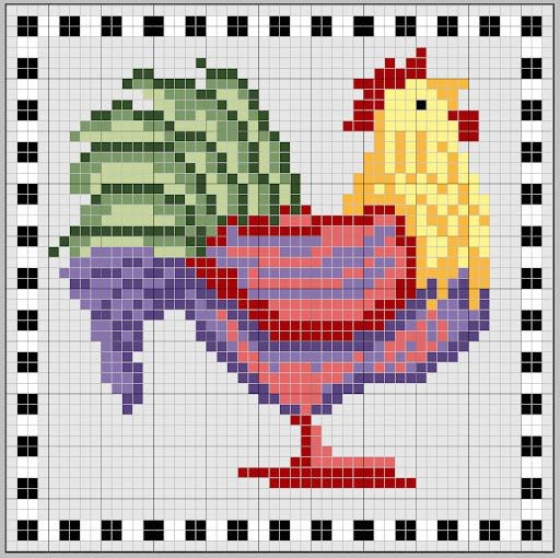 Бесплатные схемы вышивки символа года