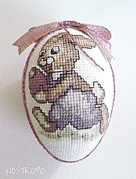 вышивки пасхальных яиц.