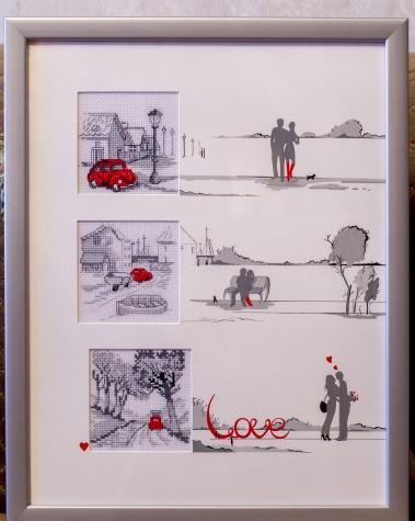 История любви - история красной машинки