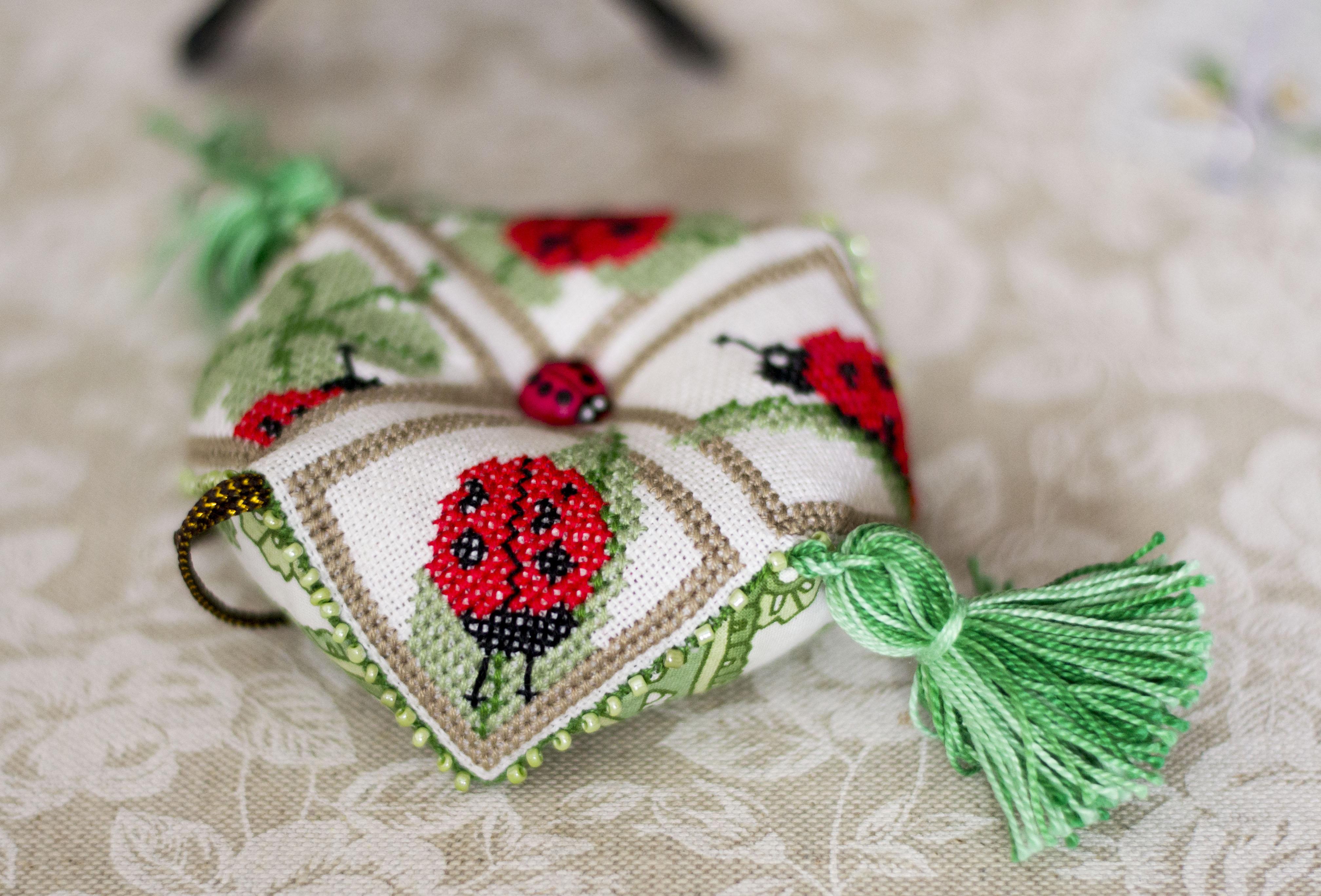 Квакерский шар вышивка схемы