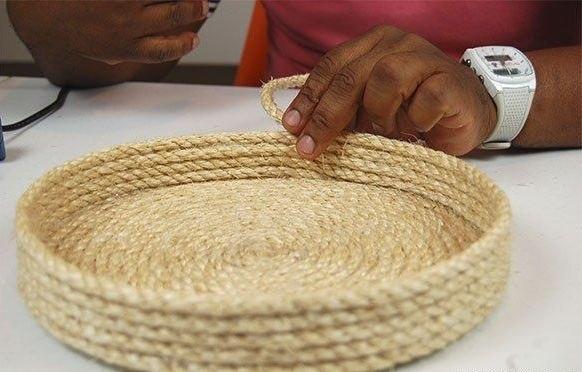 Сделать коробки из веревки своими руками