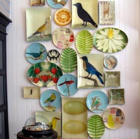 Декор стен для кухни своими руками с фото
