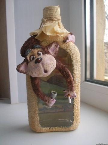 Новогодние поделки обезьянка фото