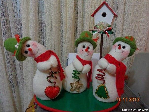 Смешные игрушки своими руками на новый год