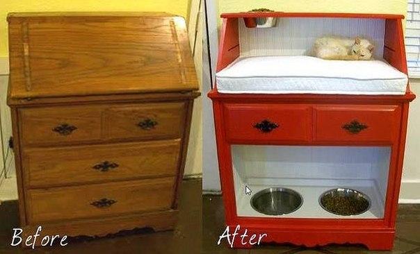 Как сделать из старой новую мебель своими руками