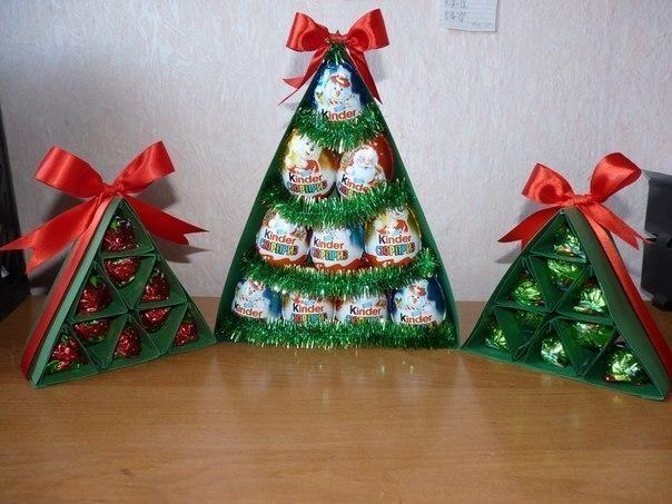 Поделка новогодний подарок