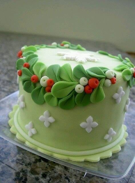 Фото идеи украшения тортов