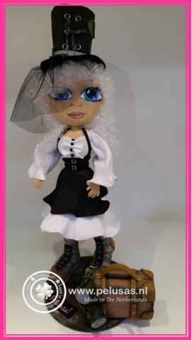 Steampunk lady foamiran
