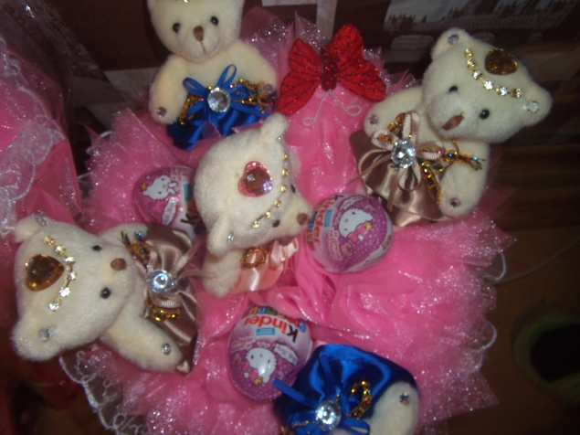 сладкие букетики