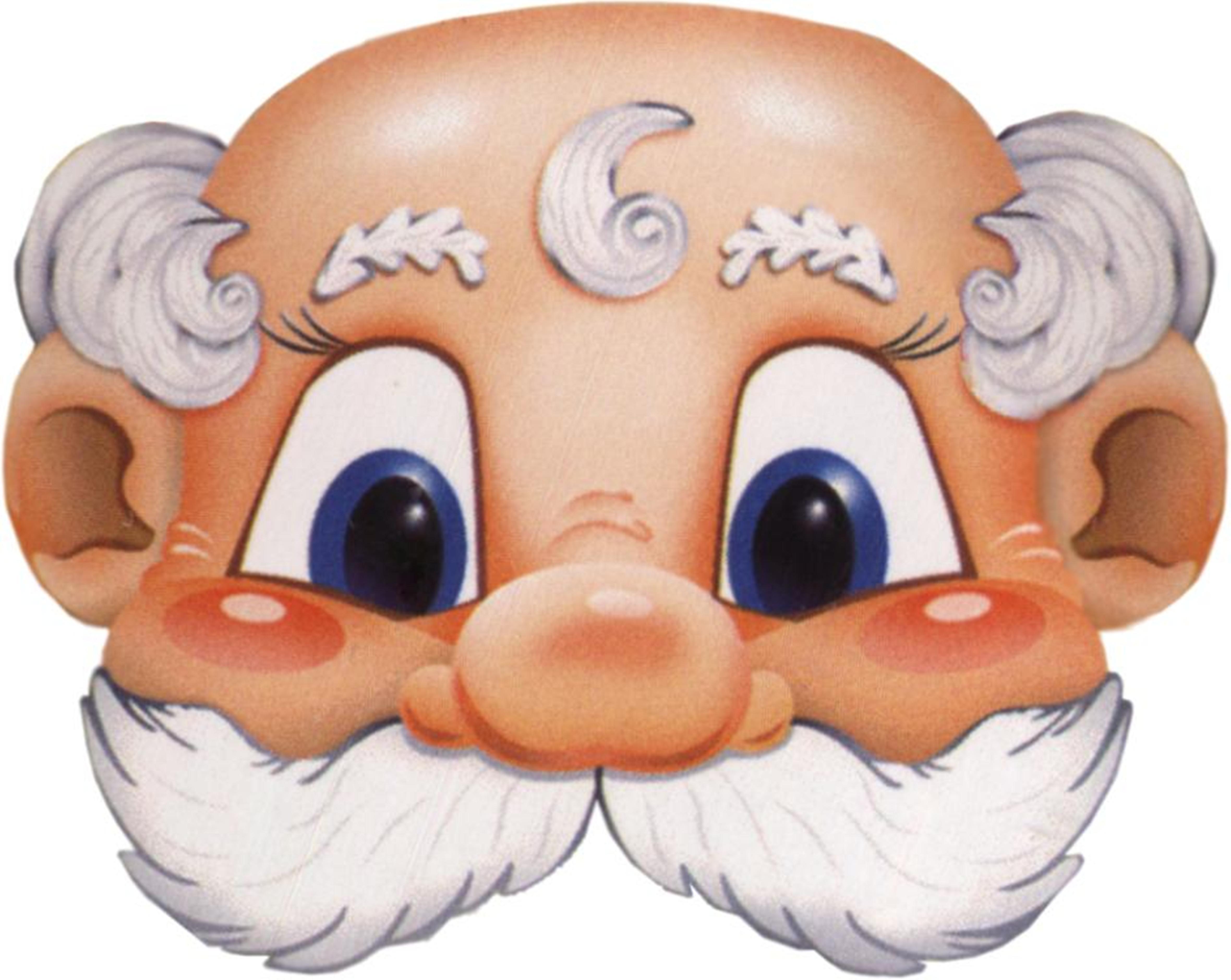1992 Новогодние маски - запись пользователя Mariska (M@RI $k@) в сообществе Новый год в категории новогодние подарки,поделки и к