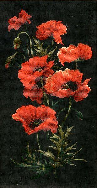 Вертикальные картины вышивка