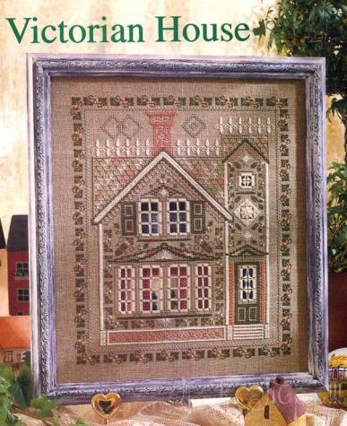 Victorian House, хардангер , 2 этап