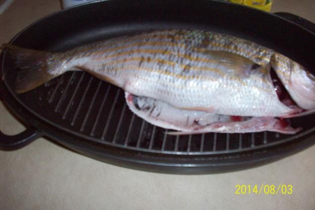 Рыбка с гарниром