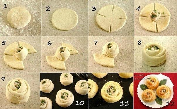 Оформление пирогов (идеи из инета)