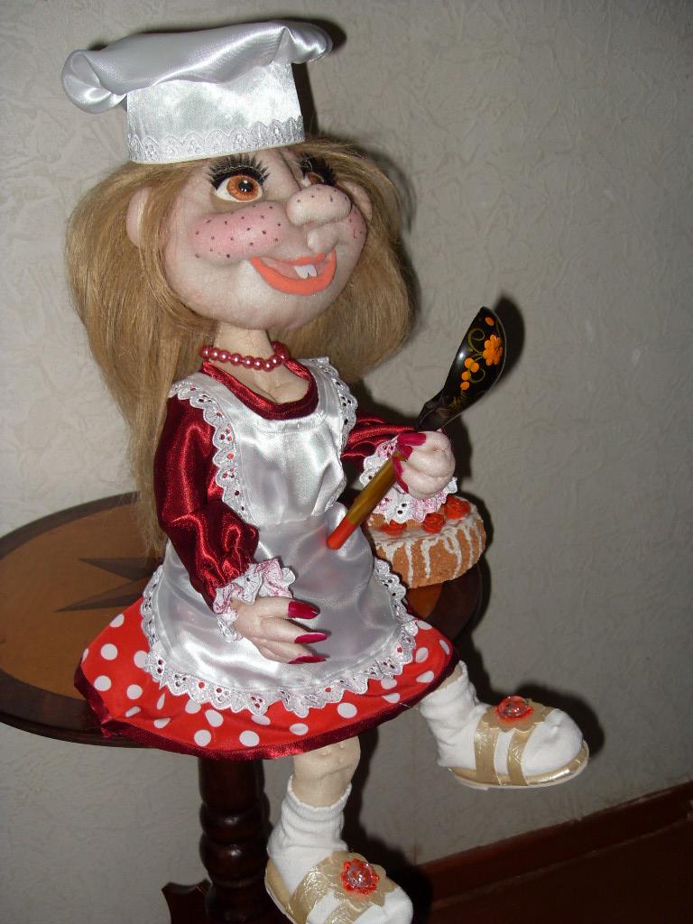Чулочная кукла мастер класс пошагово 33