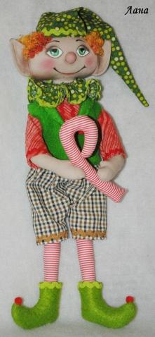 Помощник Санты или Рождественский Эльф