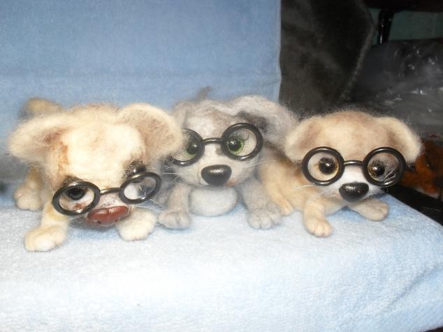 мои валяные игрушечки