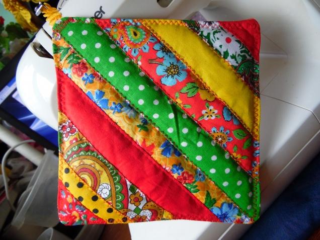 Лоскутное шитьё из полосок