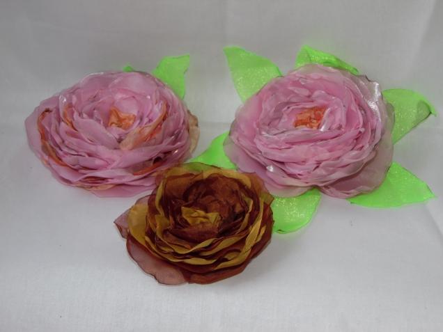 цветы с мастер-класса