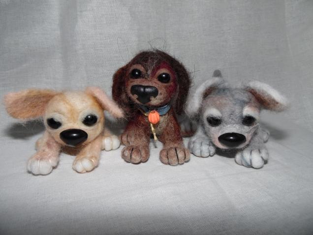 валяние-игрушки