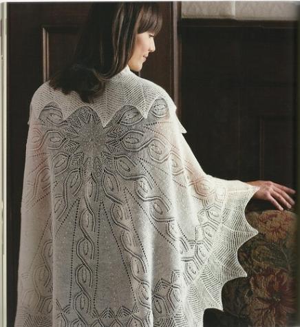 для тех кто любит вязать шали  (4)