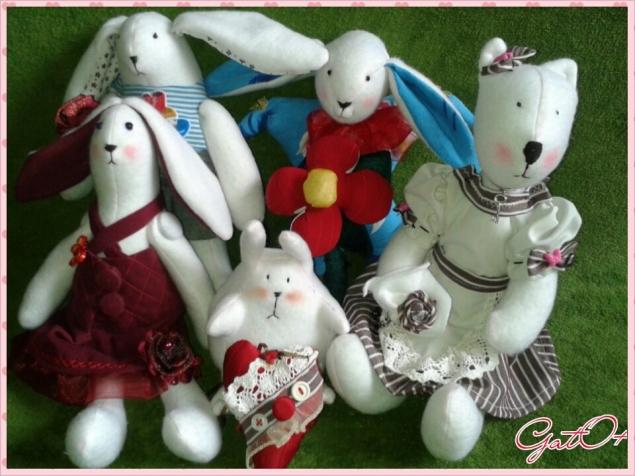 мои куколки Тильды)))